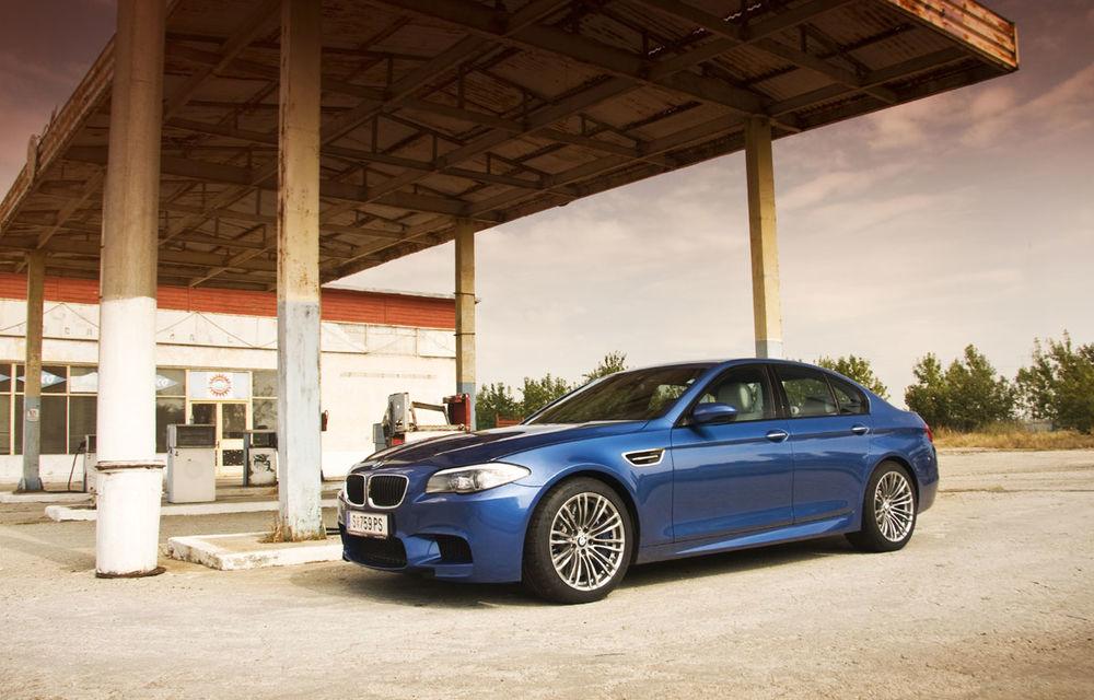 FOTOREPORTAJ: Călătorie Bucureşti-Sofia cu noul BMW M5 - Poza 5