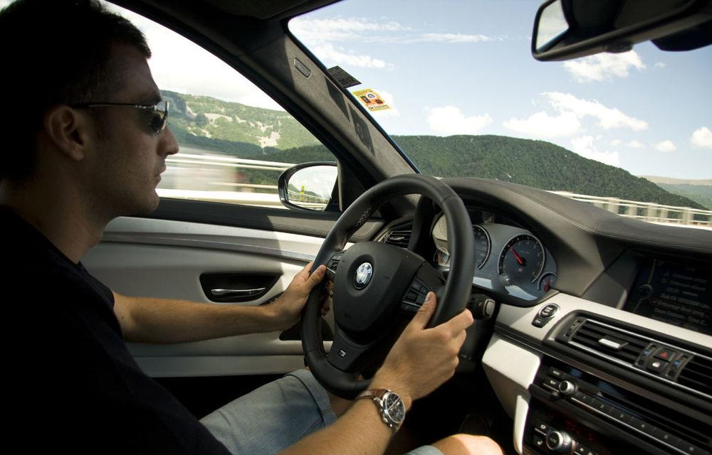 FOTOREPORTAJ: Călătorie Bucureşti-Sofia cu noul BMW M5 - Poza 26
