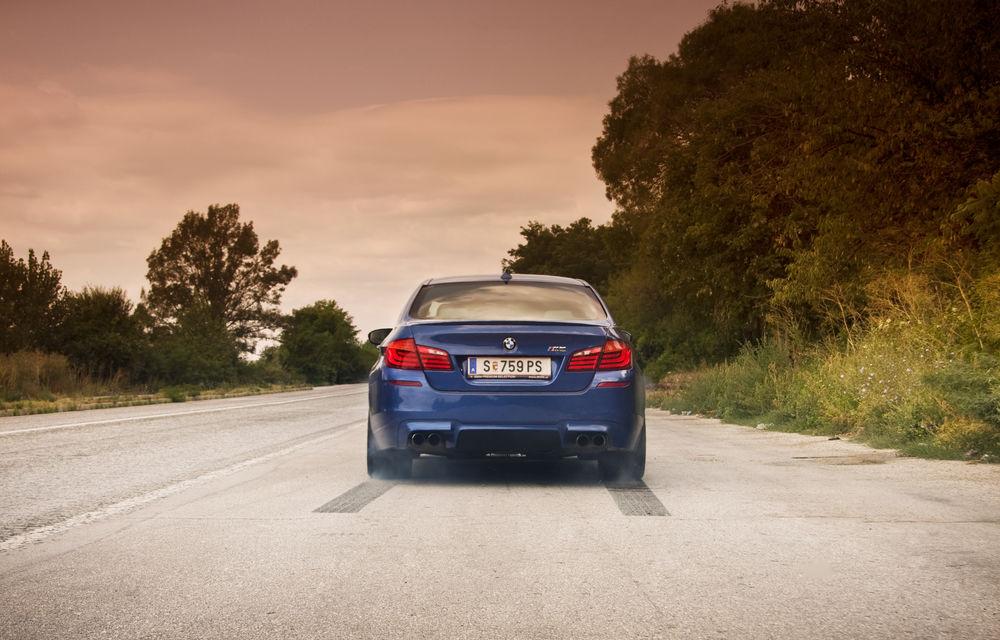 FOTOREPORTAJ: Călătorie Bucureşti-Sofia cu noul BMW M5 - Poza 18