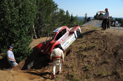 Mitsubishi i-MiEV Evolution, accident în antrenamentele pentru Pikes Peak - Poza 3