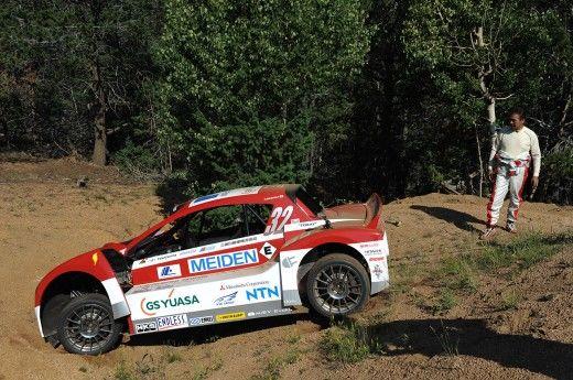 Mitsubishi i-MiEV Evolution, accident în antrenamentele pentru Pikes Peak - Poza 2
