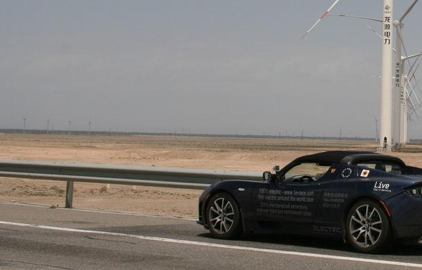 eRace: Două echipe se întrec pentru prima traversare a lumii cu o maşină electrică de serie - Poza 7