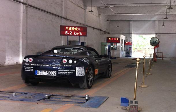 eRace: Două echipe se întrec pentru prima traversare a lumii cu o maşină electrică de serie - Poza 11