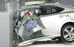 Mercedes, Lexus şi Audi au obţinut rezultate slabe la noul test de siguranţă al institutului american IIHS