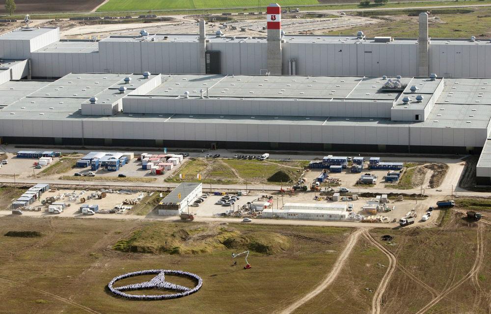 Mercedes-Benz extinde capacitatea de producţie la fabrica din Ungaria - Poza 1