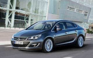 Opel Astra Sedan debutează la Moscova alături de noul motor 1.6 Turbo