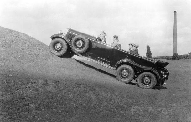 POVEŞTI AUTO: 105 ani de automobile Mercedes-Benz cu tracţiune integrală - Poza 2