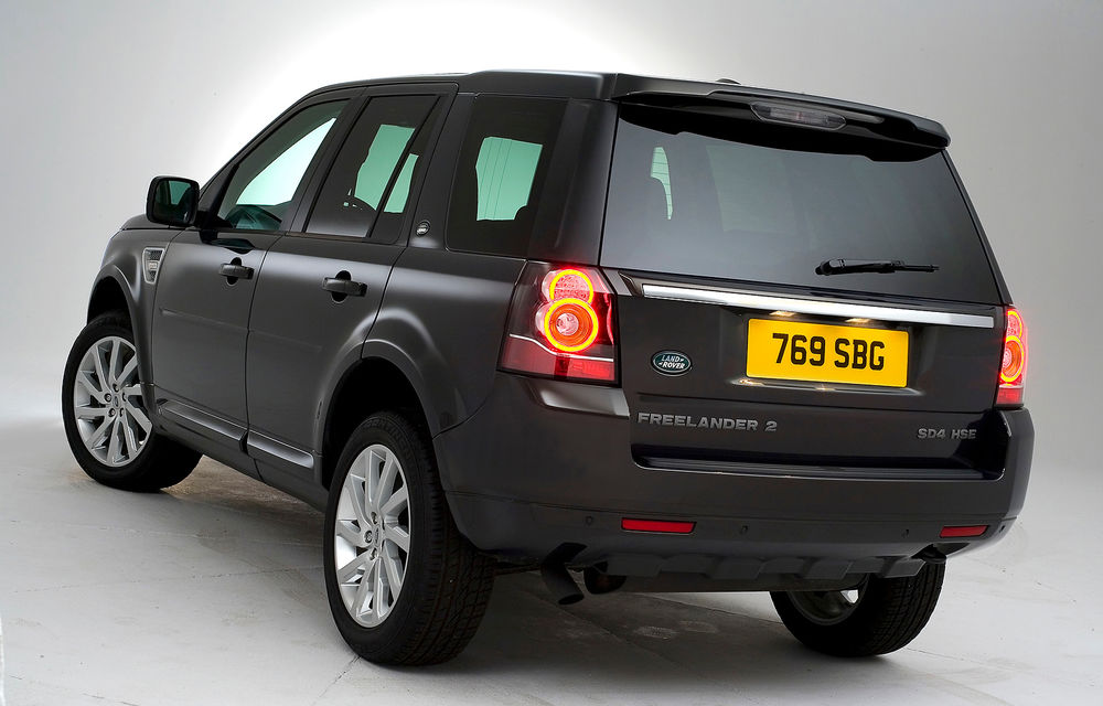 Land Rover Freelander 2 a primit un facelift discret - Poza 5