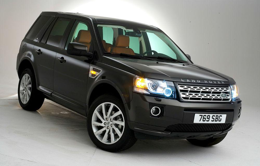 Land Rover Freelander 2 a primit un facelift discret - Poza 1