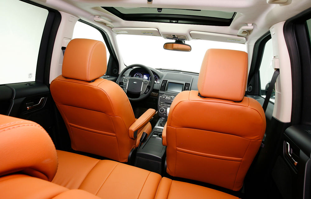 Land Rover Freelander 2 a primit un facelift discret - Poza 8