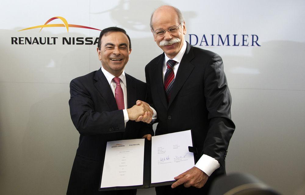 Daimler ar putea construi modele Mercedes în fabricile Renault-Nissan - Poza 1