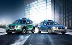 BMW prezintă noile Seria 5 şi X3 de poliţie