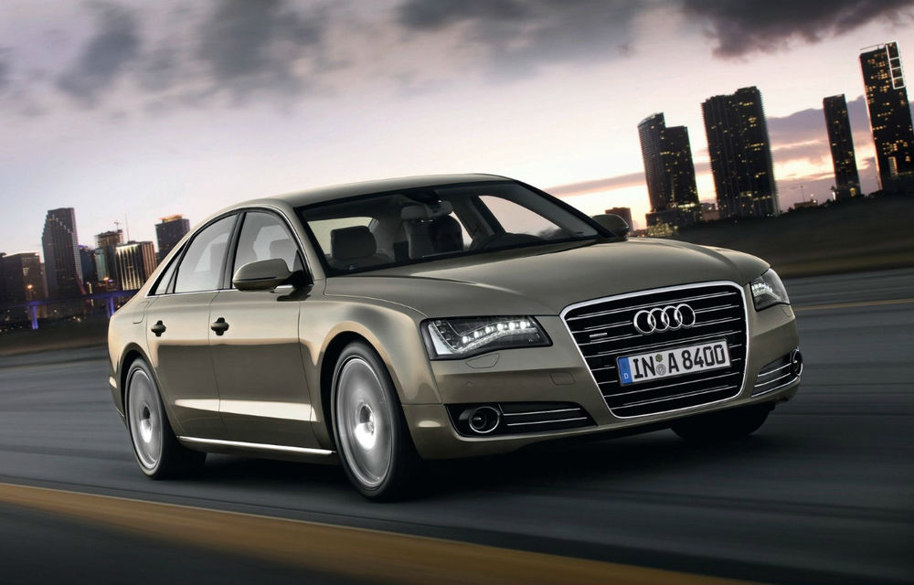Audi A8 ar putea primi un înlocuitor cu tracţiune spate în 2016 - Poza 1