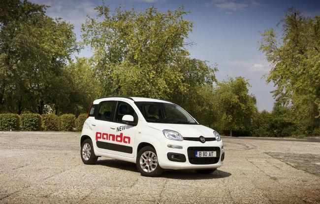 Test drive Fiat Panda