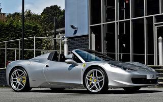 Ferrari 458 Spider a primit un pachet de la Kahn Design
