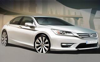 Primele schiţe ale viitorului Honda Accord european
