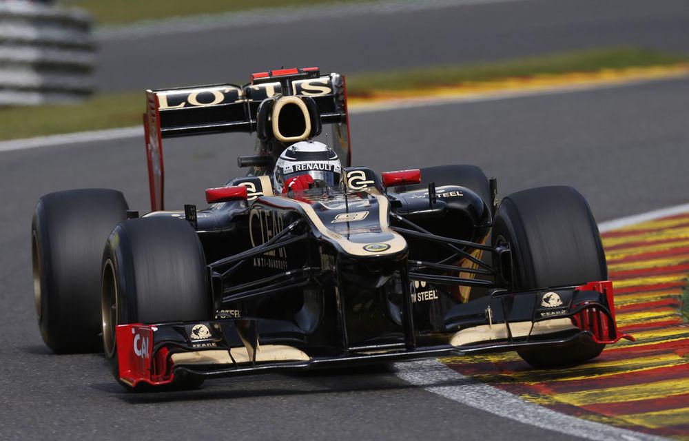 "Lotus: ""Raikkonen rămâne în lupta pentru titlul mondial"" - Poza 1"