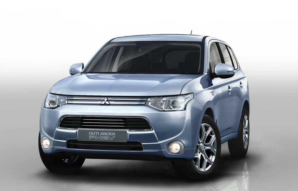 Mitsubishi Outlander Plug-in Hybrid, informaţii noi - Poza 1