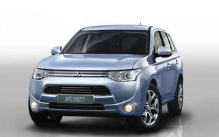 Mitsubishi Outlander Plug-in Hybrid, informaţii noi
