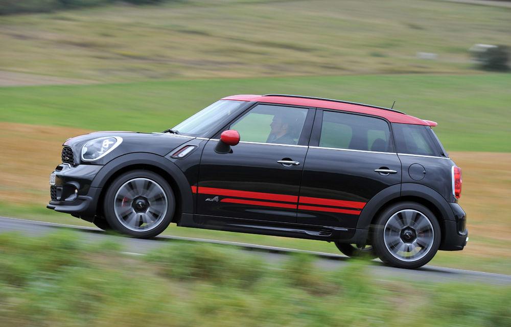 Mini Countryman JCW, cea mai sportivă versiune a SUV-ului englezesc - Poza 3