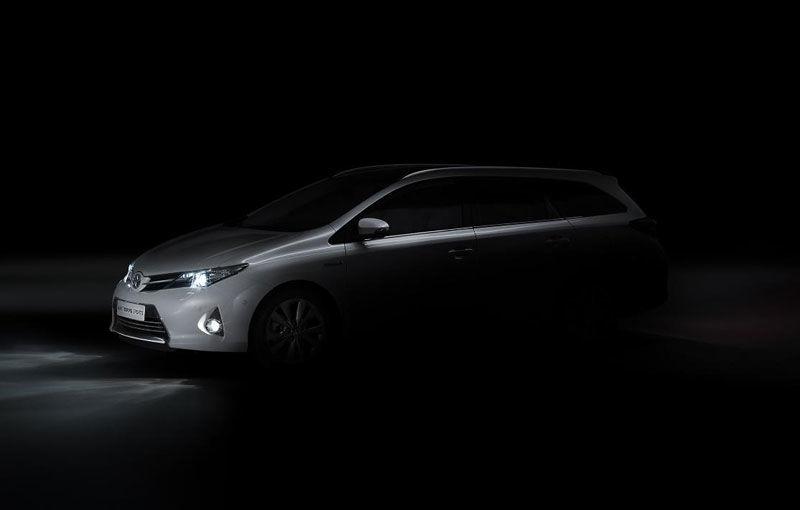 Toyota Auris Tourer şi Verso - noile surprize aşteptate la Paris - Poza 1