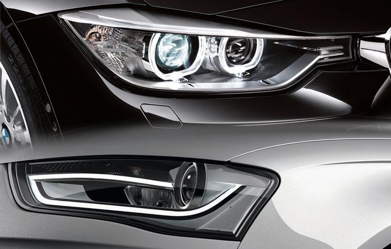 Luptă strânsă în segmentul premium la nivel mondial: BMW şi Audi, despărţiţi de doar 2.000 de unităţi în 2012 - Poza 1
