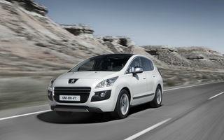 Peugeot 3008 HYbrid4 a fost actualizat pentru a obţine un consum mai mic