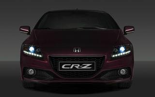Honda CR-Z facelift debutează alături de Civic 1.6 diesel la Paris