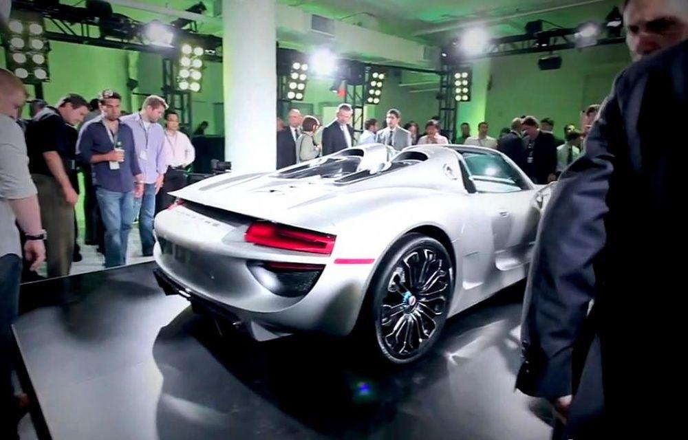 Porsche 918 Spyder, prezentat înainte de lansarea oficială - Poza 6