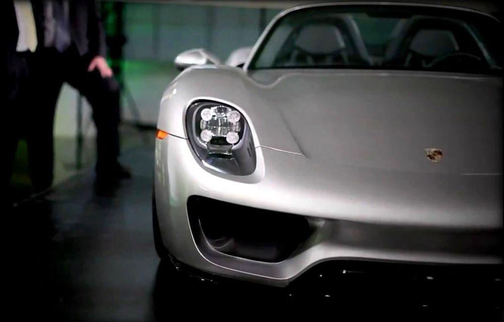 Porsche 918 Spyder, prezentat înainte de lansarea oficială - Poza 5
