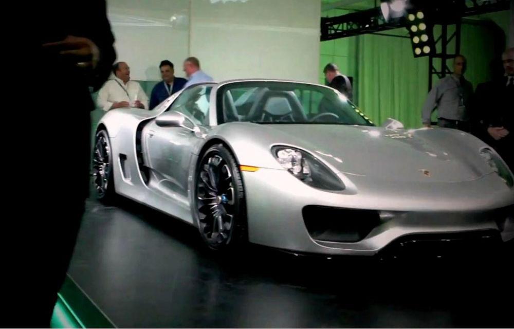 Porsche 918 Spyder, prezentat înainte de lansarea oficială - Poza 1