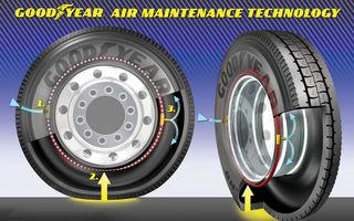 Goodyear a prezentat pneul care îşi reglează singur presiunea
