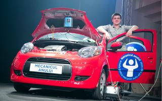 """""""Mecanicul Anului 2012"""", premiat cu un Citroen C1"""