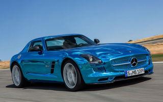 Mercedes-Benz SLS AMG Coupe Electric Drive va costa 416.500 euro
