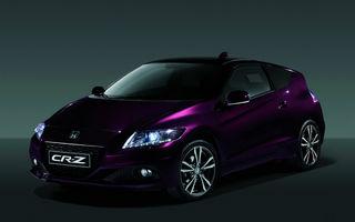 Honda CR-Z facelift a venit la Paris cu mai multă putere şi cu un consum mai mic