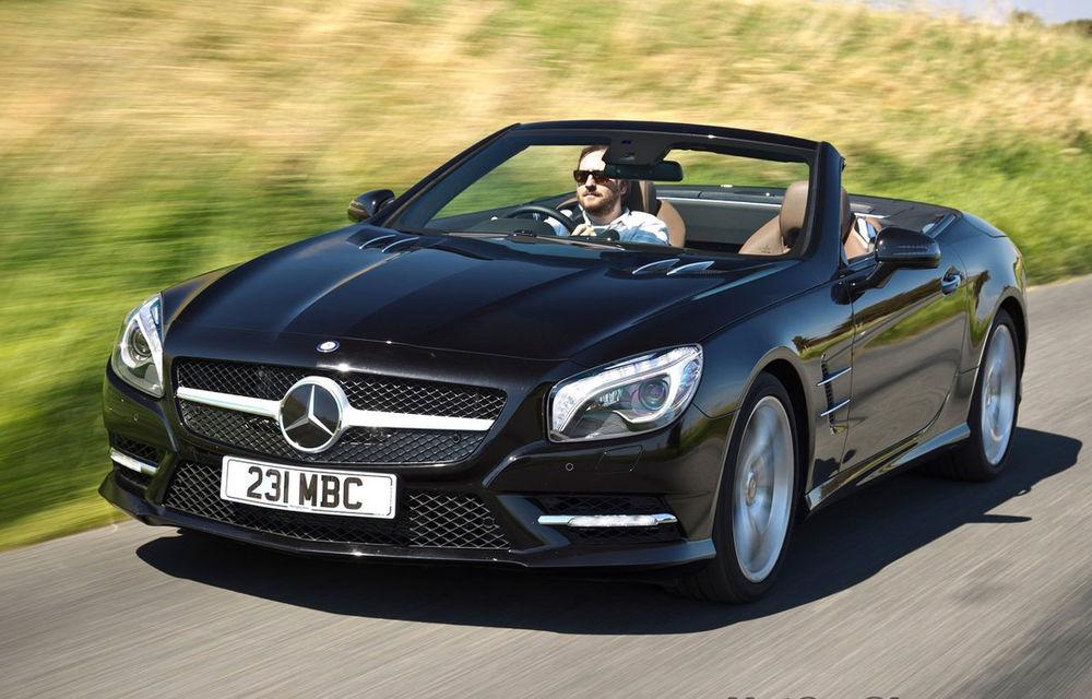 Mercedes SL, rechemat în service pentru că lichidul de răcire este inflamabil - Poza 1