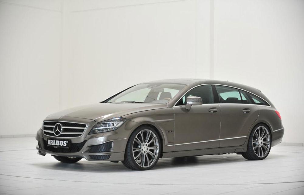 Mercedes CLS Shooting Brake primeşte vizita celor de la Brabus - Poza 1