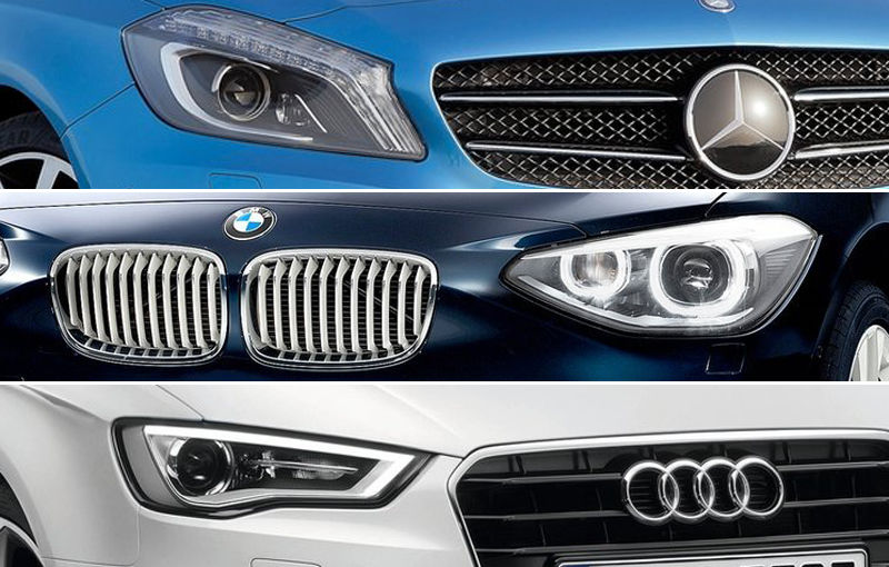 Mercedes-Benz pierde teren în bătaia cu Audi şi BMW la nivel mondial - Poza 1