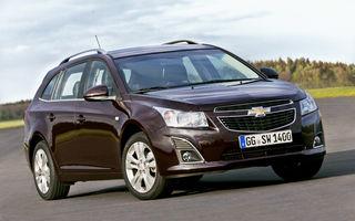 Chevrolet: Vânzările şi cota de piaţă din Europa au crescut în primele nouă luni ale anului