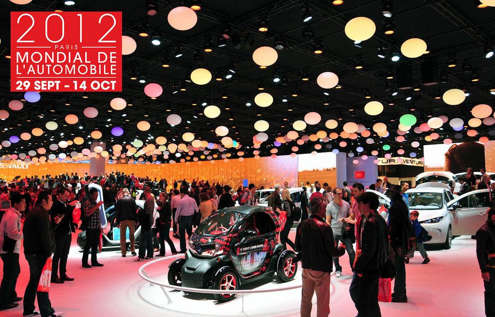 Salonul Auto de la Paris 2012 - cel mai popular salon din lume cu 1.2 milioane de vizitatori - Poza 1