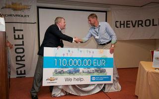 Chevrolet donează 250.000 euro organizaţiei SOS Satele Copiilor