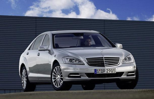 Mercedes reduce producţia lui S-Klasse din cauza cererii reduse - Poza 1