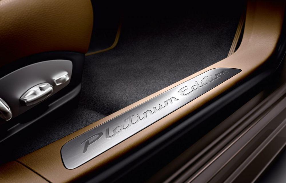 Porsche Panamera Platinum Edition - detalii şi imagini oficiale - Poza 6