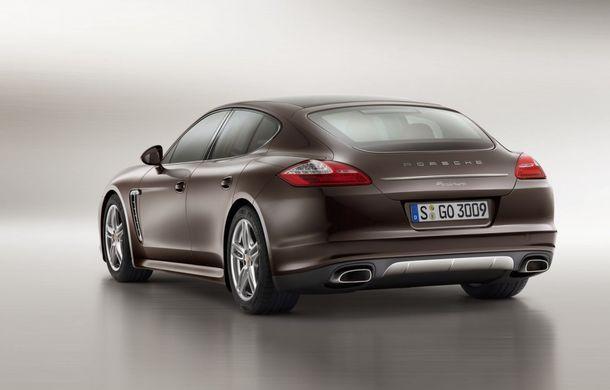 Porsche Panamera Platinum Edition - detalii şi imagini oficiale - Poza 2