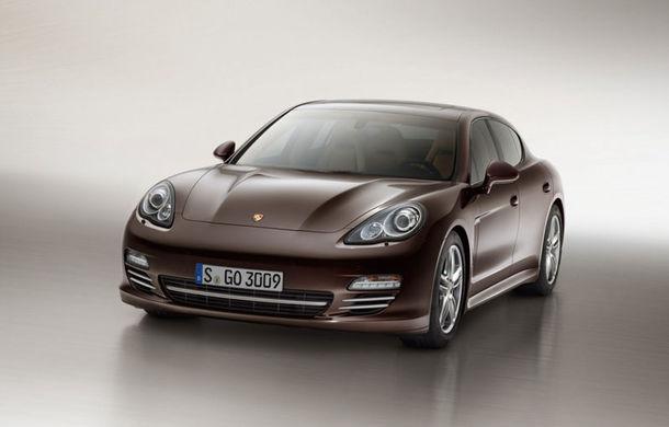 Porsche Panamera Platinum Edition - detalii şi imagini oficiale - Poza 1