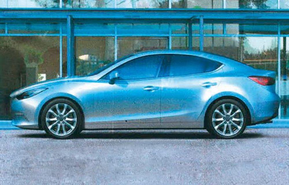 Primele imagini cu viitoarea generaţie Mazda3 - Poza 4