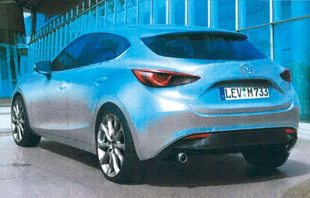 Primele imagini cu viitoarea generaţie Mazda3 - Poza 3