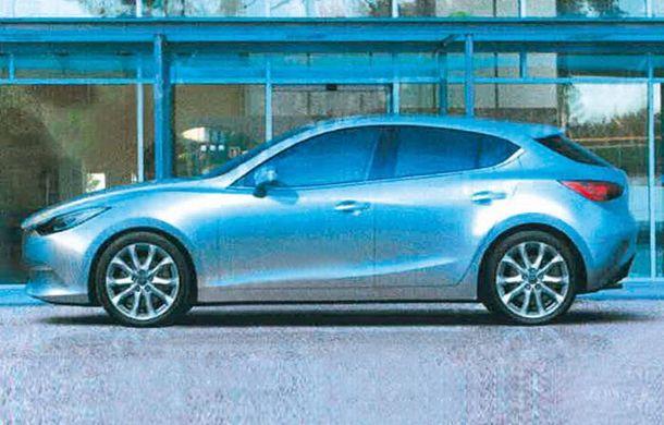 Primele imagini cu viitoarea generaţie Mazda3 - Poza 2