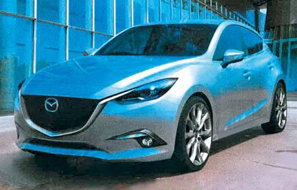 Primele imagini cu viitoarea generaţie Mazda3 - Poza 1