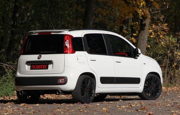 Fiat Panda by Novitec Rosso: 99 de cai putere din doi cilindri - Poza 5